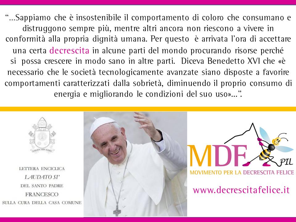 """(Italiano) II° Webinar formazione con Maurizio Pallante """"Enciclica Laudato Si'"""" – Questa sera 21.00 – ISTRUZIONI PER LA DIRETTA"""