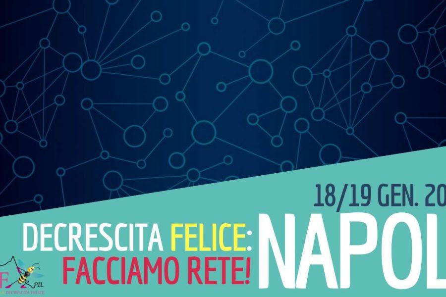 (Italiano) Facciamo rete! Napoli 18/19 gennaio 2019