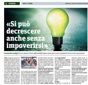 Articolo Convegno Energia