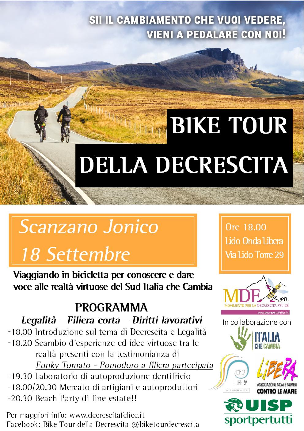 Bike Tour - Scanzano Jonico