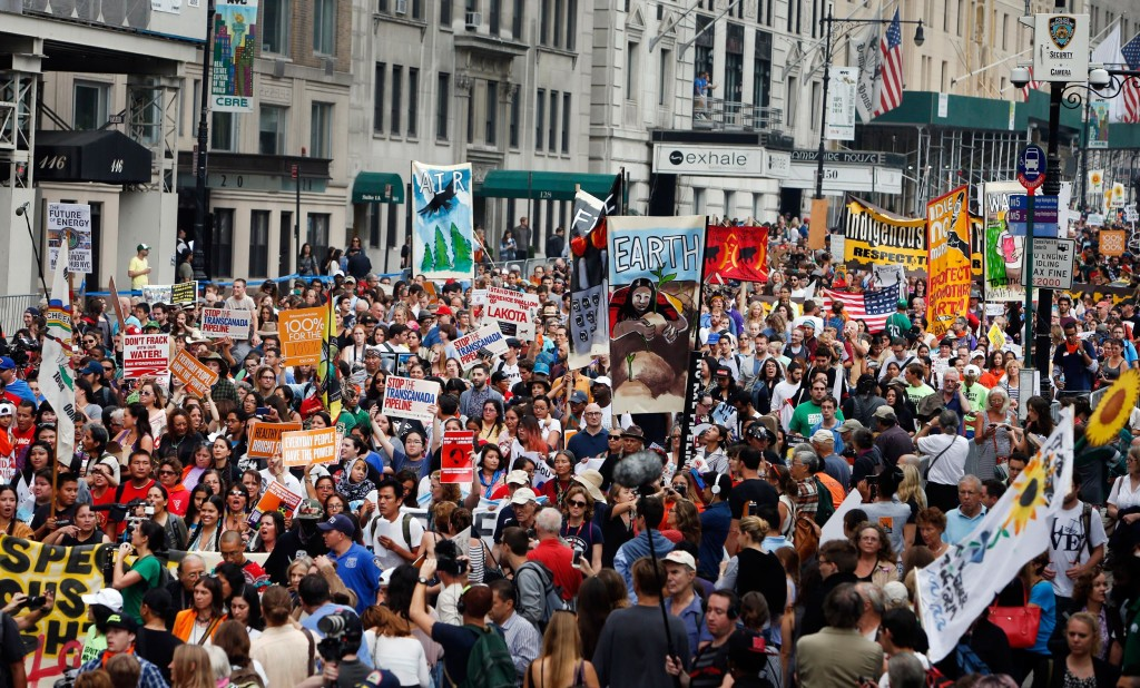 Half-a-Million-People-March-in-Cities-Around-the-World-to-Combat-Climate-Change