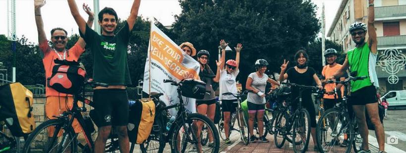 Bike Tour della Decrescita 2017, nuovo inizio
