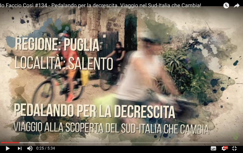 Bike tour con Italia che cambia