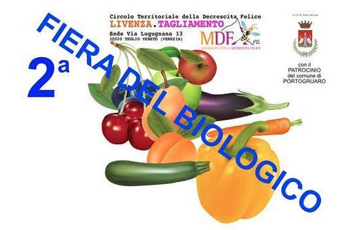 Seconda fiera del biologico a Portugaro