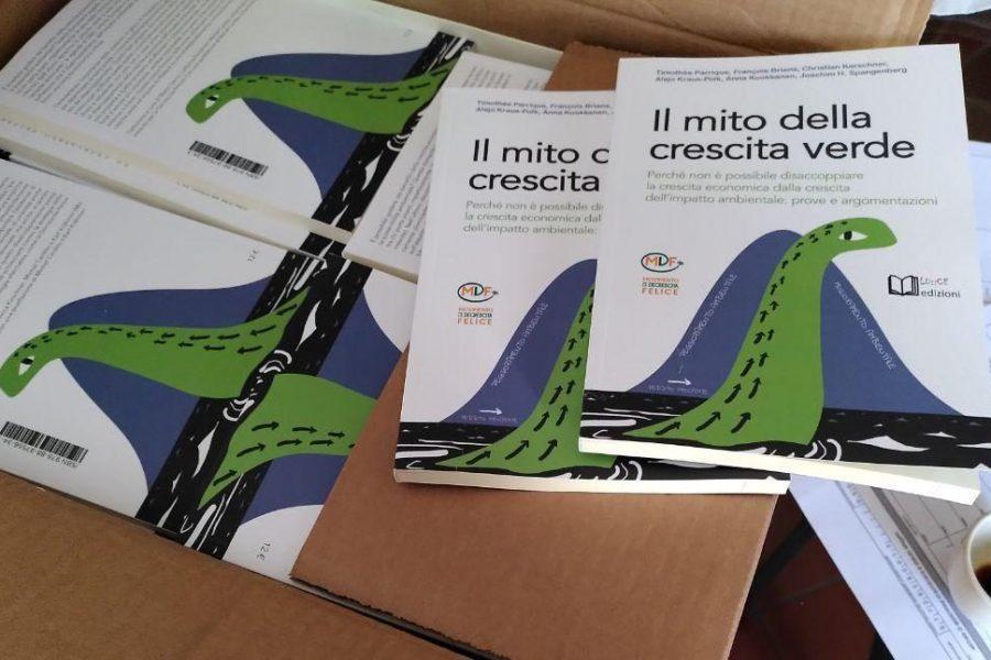 """Presentazione del libro """"Il mito della Crescita Verde"""""""