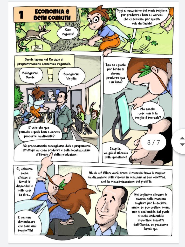 Futura Il libro a Fumetti sulla Decrescita Felice