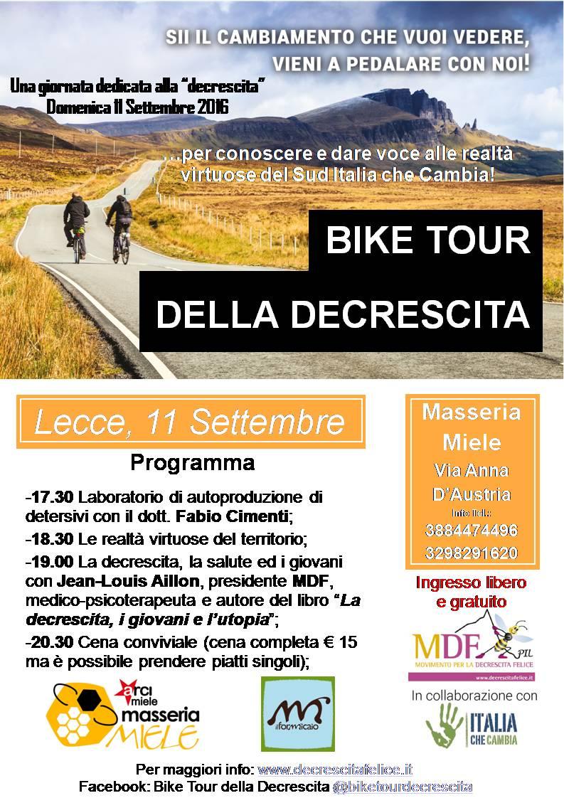 bike tour Lecce bis