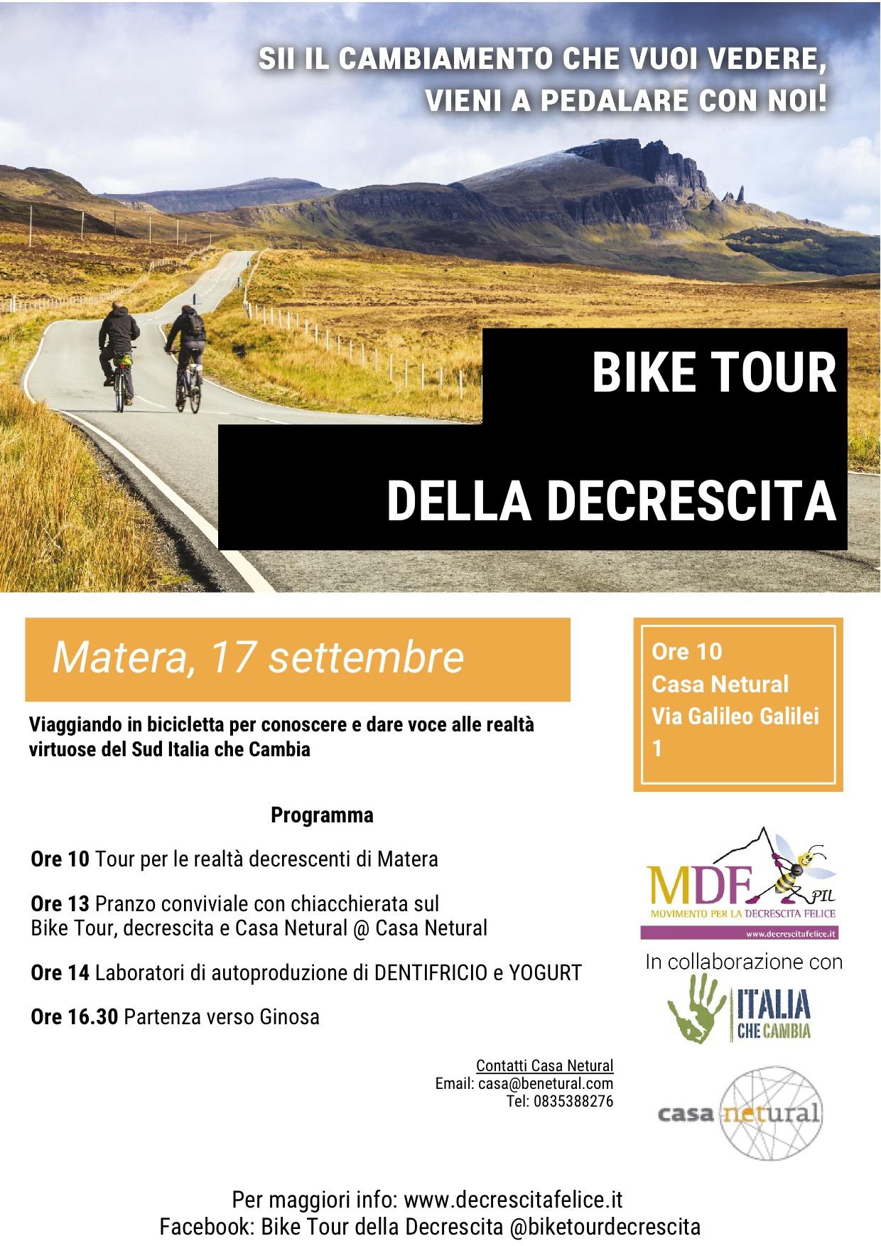bike tour Matera